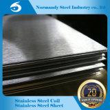 202 feuille d'acier inoxydable de fini du numéro 4 pour la décoration et la construction de vaisselle de cuisine