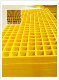 FRP 섬유에 의하여 강화되는 플라스틱 GRP 섬유유리 격자판