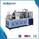 Taza de papel del control auto del PLC de la alta calidad que forma la máquina