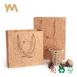 일본어는 고품질 Handmade 카키색 종이 봉지를 디자인한다