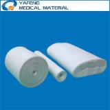 Rullo medico assorbente 100% della garza del cotone 100yards nella figura di zigzag o rotonda