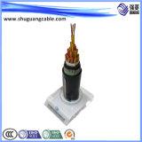 PVC сердечников Vvp 2 изолировал и обшил защищаемый силовой кабель