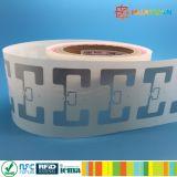 contrassegno passivo di caduta dei vestiti del PVC di frequenza ultraelevata dell'intarsio di frequenza ultraelevata di Impinj Monza R6 MR6 AR61F di stampa di marchio