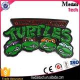 Inarcamento di cinghia molto popolare del metallo del nero di figura delle 2016 tartarughe del fumetto