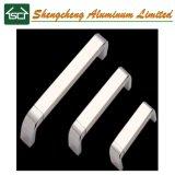 専門のハードウェアプロファイルの工場アルミニウム家具のハンドル、種類のアルミニウムノブ