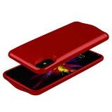 für iPhone X Fall 4600mAh Blockbaugruppe-Batterie-Kasten-ultra dünne bewegliche bewegliche Energien-Bank