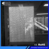 P3.9/7.8mm de elevada taxa de atualização de parede LED transparente para a Publicidade