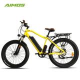 Fat pneu VTT vélo électrique avec moteur de 500 W Ebike