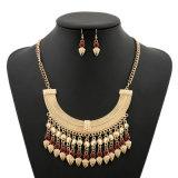 金貨の形の吊り下げ式の宝石類のネックレス、方法真珠のネックレス