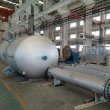 Pista elipsoidal compuesta del acero SA516gr70 del material SUS304 del revestimiento explosivo para el recipiente del reactor