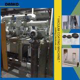 Máquina para recubrimiento de bobinado de aluminio chapado de película en película plástica