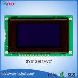파란 배경 128*64를 가진 Syb128X64 AV21 LCD 그래픽 표시