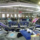 Halb automatische Shirt-Bildschirm-Drucken-Maschine für Tuch