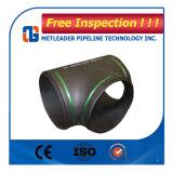 ASME B16.9の標準の継ぎ目が無い炭素鋼の同輩のティー