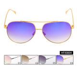 Óculos de sol espelhados da forma estoque pronto para unisex (HFX0004)