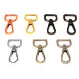 鎖カラー袋亜鉛合金のKeychainの急なホック(HS6085)のための熱い販売の金属の旋回装置のスナップのホック