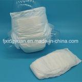 Blanc pur personnalisé feuille arrière les couches pour bébés