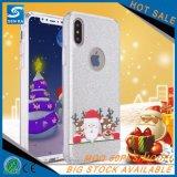 Geval van de Telefoon van de Toebehoren van de Telefoon TPU van de kerstboom het Transparante Mobiele voor LG V10