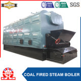 石炭の木によって発射される産業蒸気ボイラ