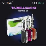 Vaporizzatore liquido Ecig della smerigliatrice E dell'acciaio inossidabile del kit all'ingrosso di Seego