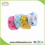 Bandagem auto-adesiva elástica Vet Wrap bandagem de veterinários de equídeos