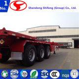 3 de l'essieu 40FT de lit plat de camion remorque semi ou semi-remorque de plate-forme