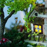 교육을%s 가진 나무로 되는 인형 집 소형 장난감