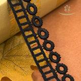 Tissu africain de lacet de cordon, lacet chimique africain de guipure