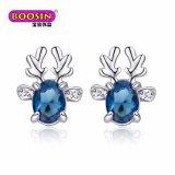 Boucles d'oreille nuptiales romantiques faites sur commande bon marché de Boosin pour la vente en gros