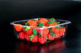 bandeja plástica de la fruta de las cubiertas de la ampolla 500g