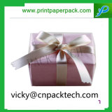 De aangepaste Vierkante Dozen van de Gift van de Doos van de Gift van het Nieuwjaar Huidige Verpakkende met het Lint van de Kleur