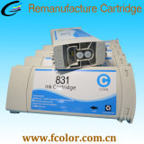 HP 유액 300를 위한 831A 유액 잉크 카트리지 775ml 310 330 360 370 인쇄 기계
