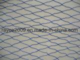 réseau bleu de poissons de palan de la pêche 30mmsq de multifilament