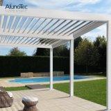 Pergola en aluminium imperméable à l'eau pour l'espace extérieur