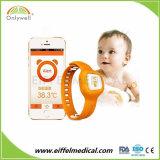 De Draadloze Slimme Baby die van Bluetooth Digitale Thermometer controleren