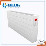 電気暖房のラジエーターを暖めるハイテクな省エネ部屋