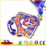 Médaille commémorative du football fait sur commande de cadeau de promotion