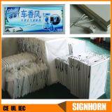 Cadre en aluminium avec cadre mural