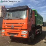 자갈 판매에 납품에 의하여 사용되는 25ton 후방 쓰레기꾼 트럭