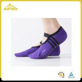 Les femmes du Ballet Grip chaussettes pour barre Yoga Pilates