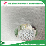 Non-Woven limpo antiestático para o Tablecloth com PONTO