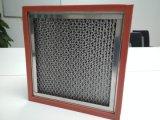 H13 Filter de Op hoge temperatuur van de Lucht van de separator HEPA van de Weerstand