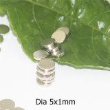 Kleiner Platte-Neodym-Magnet mit Nickel-Beschichtung NdFeB