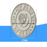 het Symbolische Muntstuk van het Metaal van de Legering van het Zink van 27mm
