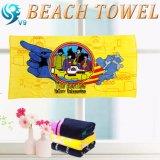 方法正方形の柔らかさの井戸の印刷のビーチタオル