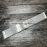 2-Piece 22 24 cinturini di vigilanza della maglia dell'acciaio inossidabile di 26mm