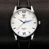 Geschäfts-Armbanduhr-kurzer Entwurfs-blaue Zeiger-Quarz-Uhr der Qualitäts-H318
