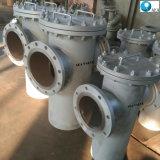 Malha de Aço Inoxidável filtrador de cesto flangeado com filtro de ventilação do TNP esvaziar