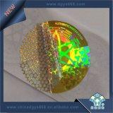 Опционный ярлык Hologram влияния радуги цвета