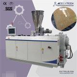 En PVC de l'extrudeuse à double vis imitation marbre Machine de feuille